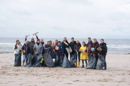Beach-Clean-Up auf Sylt